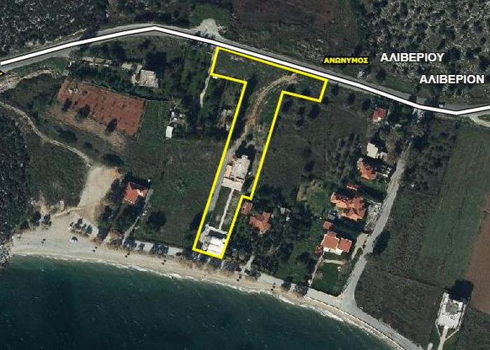 Land plot in Paralia Aliveri