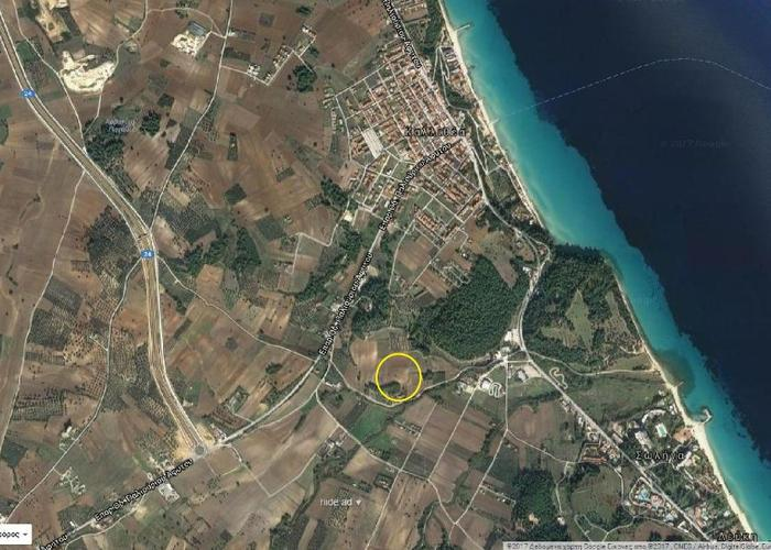 Land plot in Chalkidiki