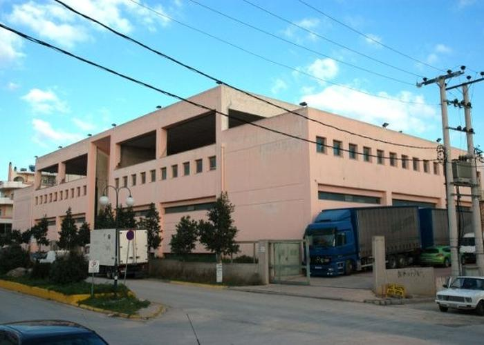 Industrial building in Metamorfosi