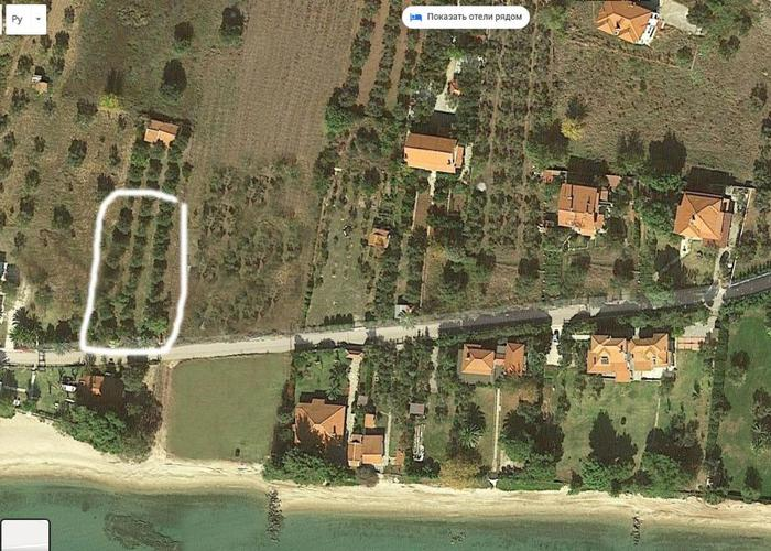 Land plot in Nikiti Chalkidiki